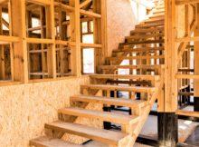 деревянный каркас дома