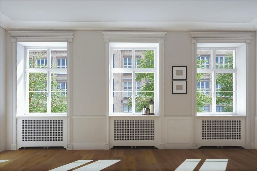 окна в зданиях